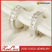 cheap fake diamond stud earring charms wholesale, ayala bar earring