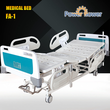 Factory direct electric patient bed hospital ward OEM patient bed with 4-function