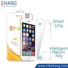 For iPhone 6 tempered glass screen protector with smart return key for iPhone 6