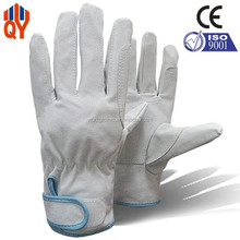 Hot Sale Pigskin Leather Safety Work Double Palm Fit Gloves