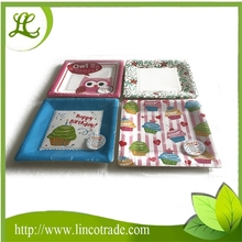 9.5 Inch Square Disposable Paper Plate For Party