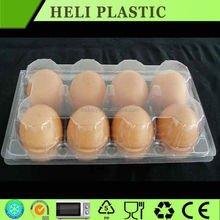 Personalizado bloco de bolha para venda PVC limpar limpar bandeja de ovos de plástico