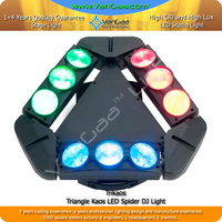 Pro Stage Triangle Spider Beam Light LED 4 in 1 RGBW Moving Beam