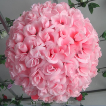 13~20cm Colorful Silk Artificial Flowers Balls Birthday Wedding Decoration Kids Party Supplies Factory Directly