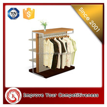handing wall display cabines for clothes/ KSL hot popular display cabinet/Luxury high-quality wooden metal modern design clothe