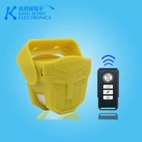 Multi function pir sensor alarm door bell