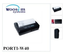 Woosim PORTI-W40 4 inch handheld android bluetooth receipt printer for phone