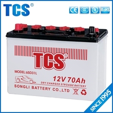 Low price 12v dry cell car battery panasonic 65D31L car battery price 12v70ah best car battery