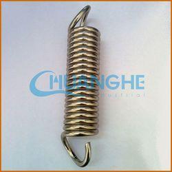alibaba china double hook tube tension spring heavy duty