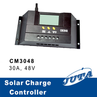 30a 48v solar charge controller with ce rohs battery charger regulator