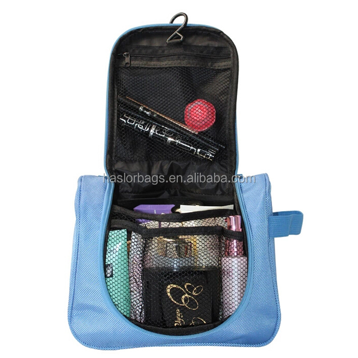 Personnalisé hanging cosmetic bag organisateur pour voyage