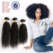 cheap peruvian curly hair extension, wholesale natural color jerry curl peruvian human hair
