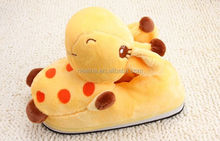 Cheap Slipper Factory Animal Style Hot Sale Hotel Bedroom 100 Cotton Slippers