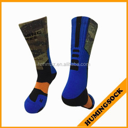 Basketball Sublimation Socks With Reinforced Toe and Heel