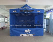 10x10 custom pop up instant promotional canopies tent