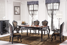 313# Italia style furniture italian style dining room furniture/1.8M long dining table set/ antique dining room furniture