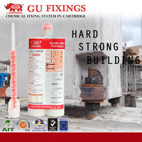 Strong epoxy resin anchor fixing adhesive for concrete