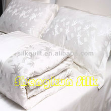 19mm Jacquard Silk and Cotton Blended Bed Sheets (Oeko-Tex)
