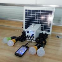 DC 12V 10W small solar home set 10w solar kit led night light kits