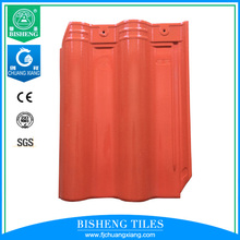 Multiple Colors Chinese Ceramic tile Roof Tile 300x400mm