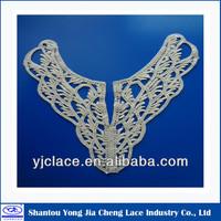 YJC93245 hot sale collar pattern neck design of blouse
