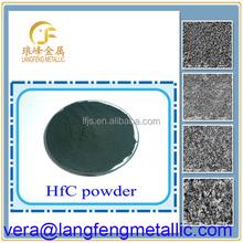 Hafnium carbide powder with high-temperature property for atomic energy