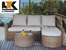 Simple Design Hot Sale garden sofa Classic Beach Sofa Set