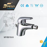Bidet Mixer, Bidet Faucet, Bidet Taps Made in China Factory with 5 Year's Guarantee