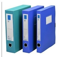 Plastic pp box file made in china
