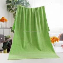 2015 new design wholesale super absorbent dark green bath towels