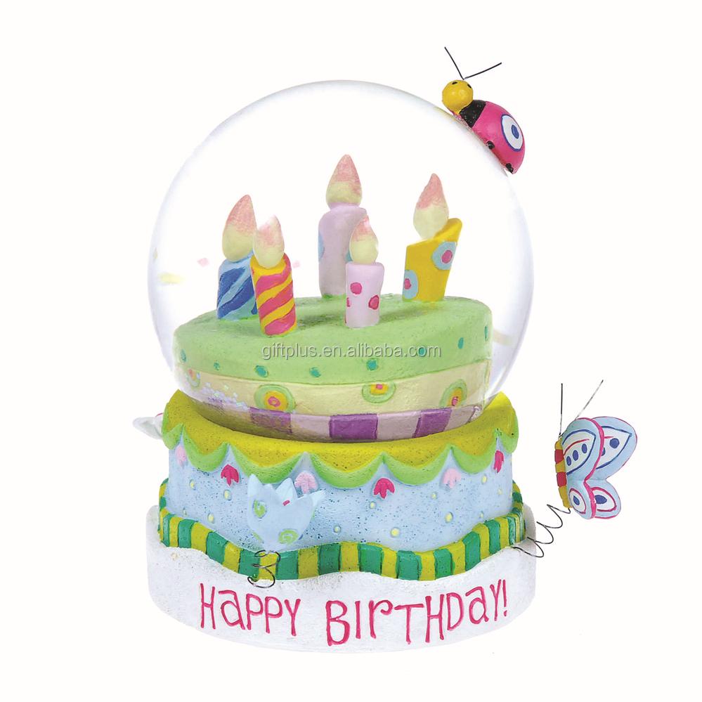 Glitter Birthday Cake Picture