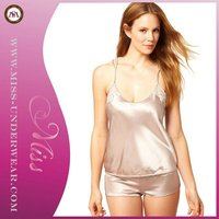 Sexy Adult Silk Camisoles Top Newest Design