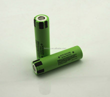 Super alkaline battery in stock! NCR18650BE li-ion battery 18650 rechargeable battery