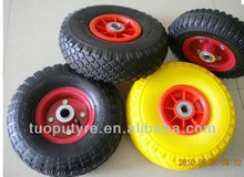 Rubber tires 10x3.50-4