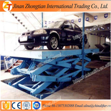 Hydraulic scissor auto car lift with CE SGS certification used for garage homes