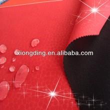 TPU membrane and polar fleece bonded waterproof windproof softshell jacket fabric
