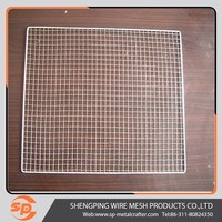 charcoal BBQ meat net/ stainless steel barbecue grill mesh