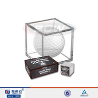 Hot selling acrylic golf ball display holder, sports display holder