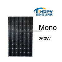 High Quality Pv Solar Panel 260W solar PV array On Net Metering for solar power