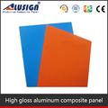 Alusign painel composto de alumínio 4 mm Gloss cor ou fosco terminar