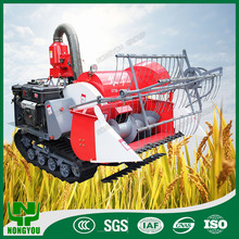 Paddy Harvester Small Machine Farm Mini Combine Harvester For Rice 4LZ-0.8