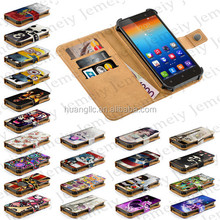 "4.7"" Universal Smartphone Case For Lenovo S660 Jemeiy Original Printed PU Leather Wallet Flip Stand Cover With Card Slots"