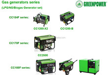 small biogas Generators for biogas plant to generate electricity