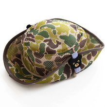 camouflage military boonie hat bucket hat for baby kids