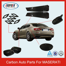 CARBON AUTO ACCESSORIES FOR MASERATI QUATTROPORTE MIRROR&GAS COVERS