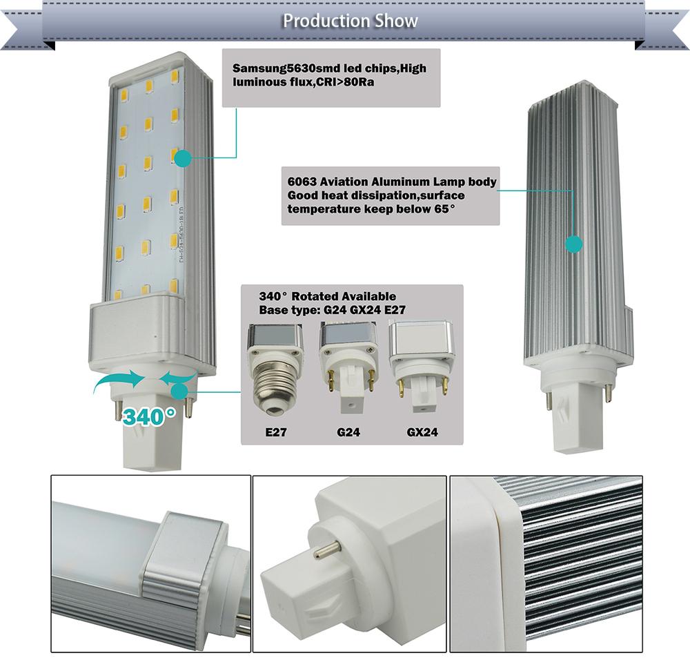 samsung5630smd 4pin 2pin led pl led g24 lamp 1200lm g23 led pl lamp g24d 3 led lamp dimmable. Black Bedroom Furniture Sets. Home Design Ideas