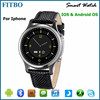 Fashion sport wearable devices android watch phone for iphone5/iphone6