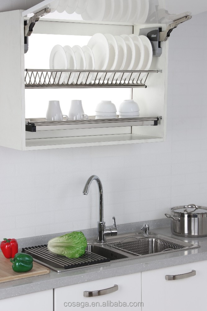 Wall Mounted Stainless Steel Dish Drainer Rack For ...