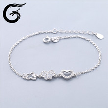 sterling silver925 jewelry wholesale bracelet