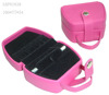 pink leather jewelry packaging bags